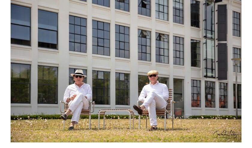 Cliff Bussman en Jan van der Linden. Foto: Jan van der Linden
