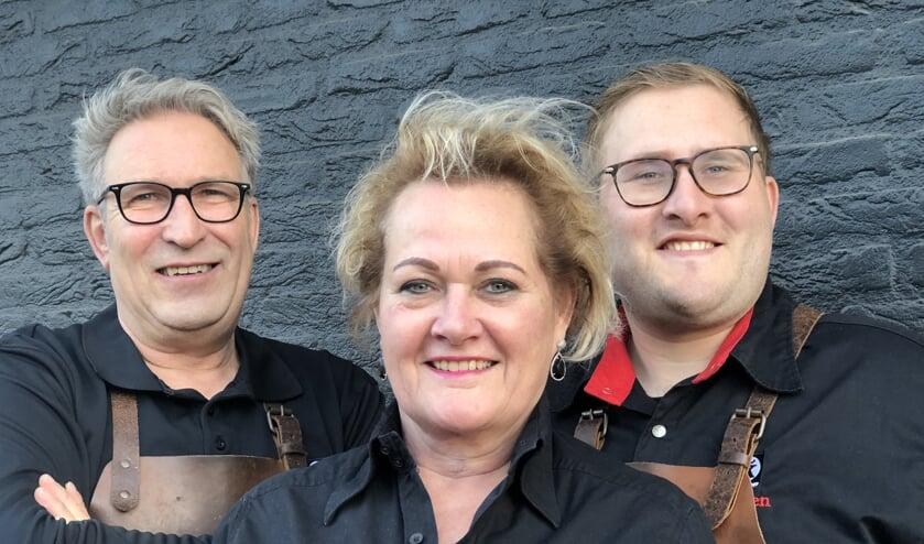 Wiljo, Rolande en Jeroen Kuenen. Foto: PR.