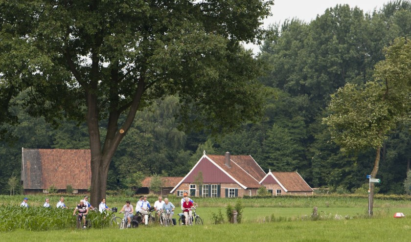 Van 18 tot en 23 juni is Winterswijk weer de startplaats van de Internationale Fiets4daagse. Foto: Ron Rensink