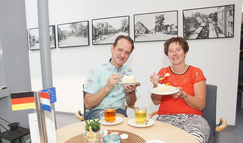 Lex Schellevis en Esther Nederlof. Foto: Frank Vinkenvleugel