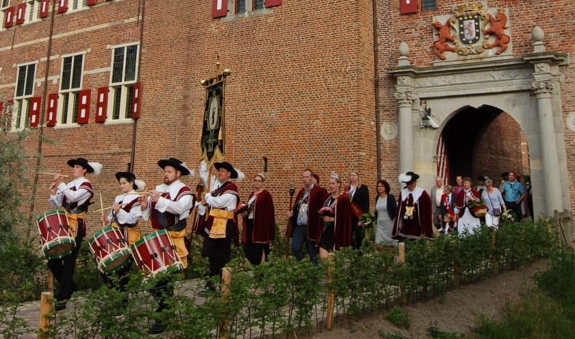 Broederschap St. Antoniusgilde 'bij Kasteel Huis Bergh. Foto: PR