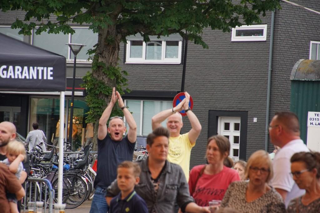 Eenthousiast publiek. Foto: Frank Vinkenvleugel  © Achterhoek Nieuws b.v.