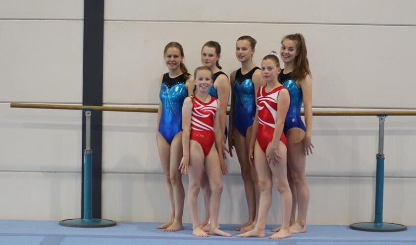 De turnsters van Vios Gym. Foto: PR