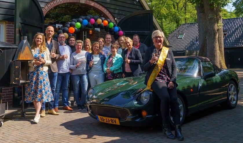 Gemma Kasteel werd verrast met de titel 'Miss Heikamp'. Foto: PR.