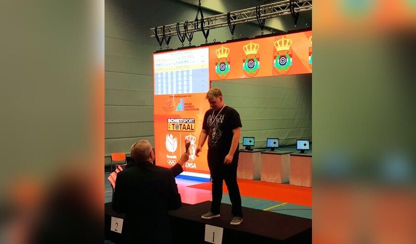 Nederlands kampioen Yannick Siebelink. Foto: Wilco Siebelink