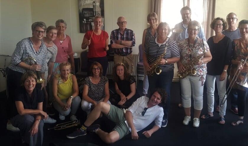 Muzikanten van de huidige 18-plus groep. Foto: PR Eendracht