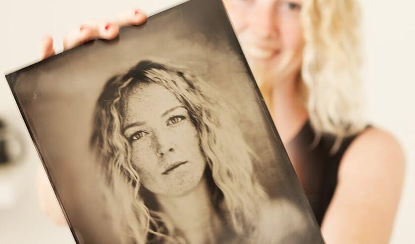 TinType maakt 'natte plaat' portretten met zilver en collodium op aluminium platen. Foto: PR