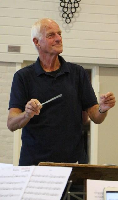 Jan Rhebergen oefent voor Maestro. Foto: PR