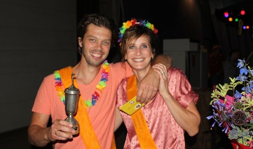 Het nieuwe koningspaar Joost en Femke Meenink woont nog pas kort in buurtschap Delden. Foto: PR.