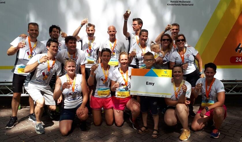 Team Emy na de finish. Foto: PR