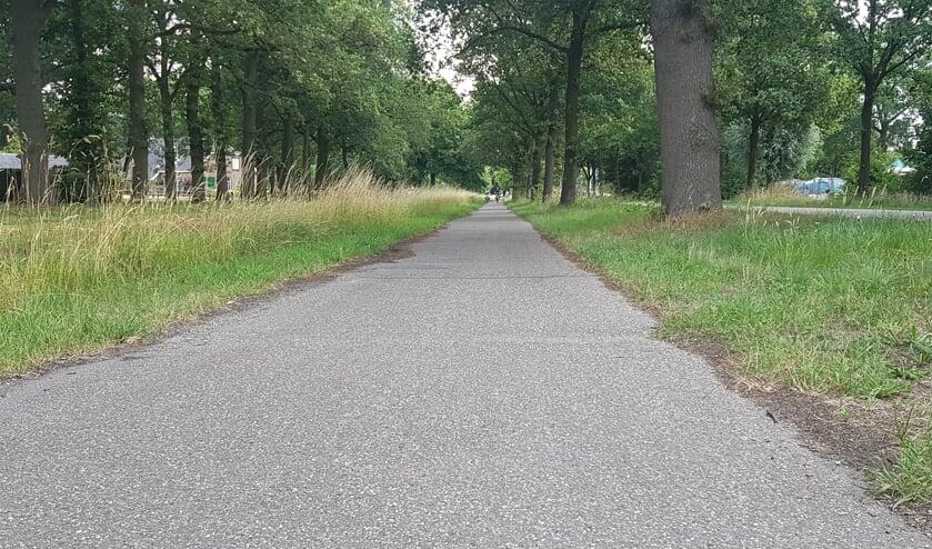 Het fietspad langs de Lievelderweg krijgt een opknapbeurt. Foto: Kyra Broshuis