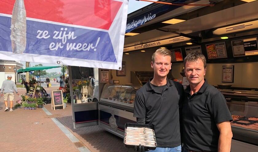 Vader en zoon De Graaf. Foto: PR