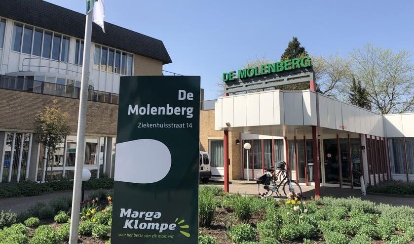 De entree van De Molenberg. Foto: PR