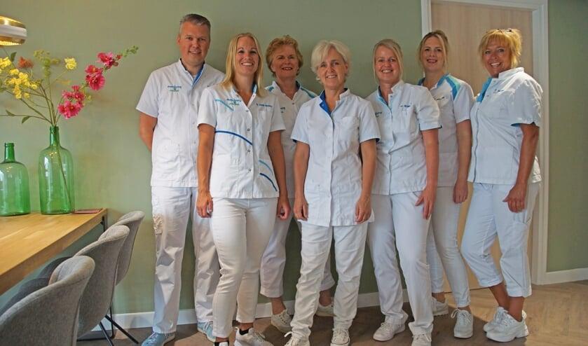 Het team van Mondzorg Vorden. Foto: Bernadet te Velthuis