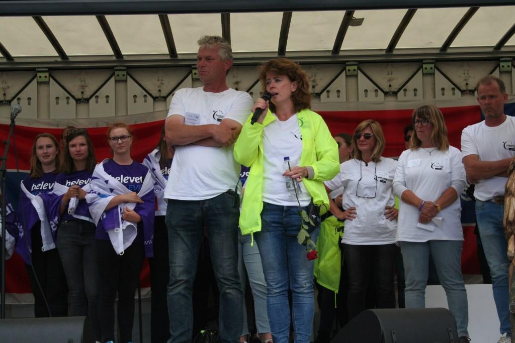 Patrick en Sandra Meekes.  © Achterhoek Nieuws b.v.