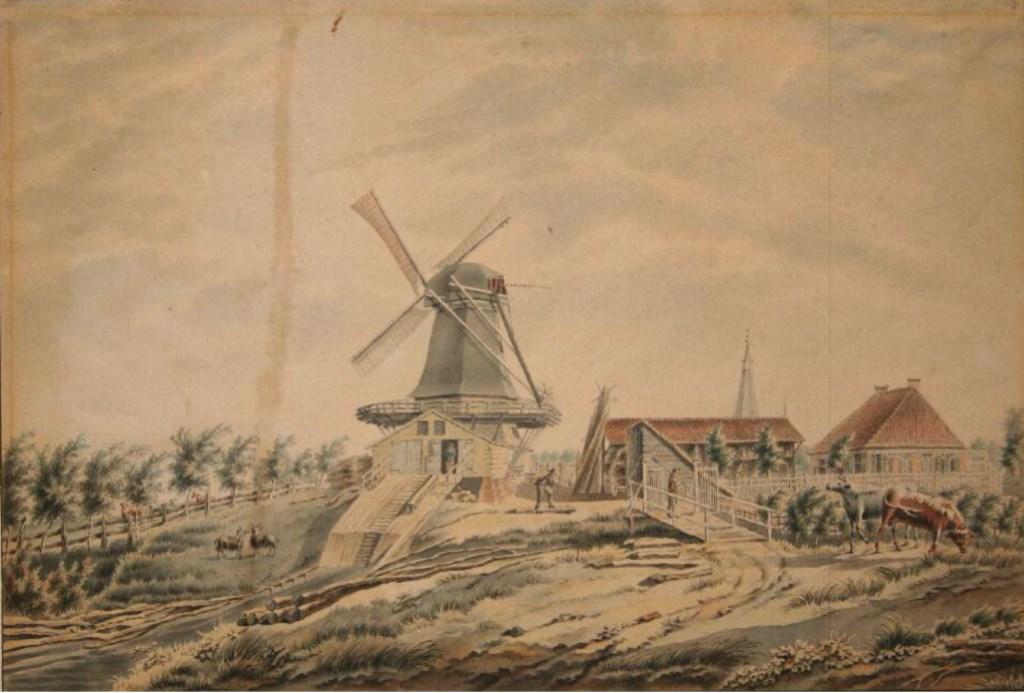 Houtzaagmolen De Zwaan. Foto: Collectie Stedelijk Museum Zutphen  © Achterhoek Nieuws b.v.