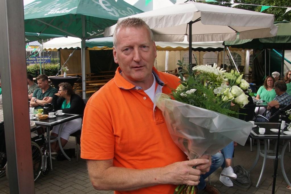 Vijftig jaar lid: Johnny Vrieze. Foto: Frank Vinkenvleugel  © Achterhoek Nieuws b.v.