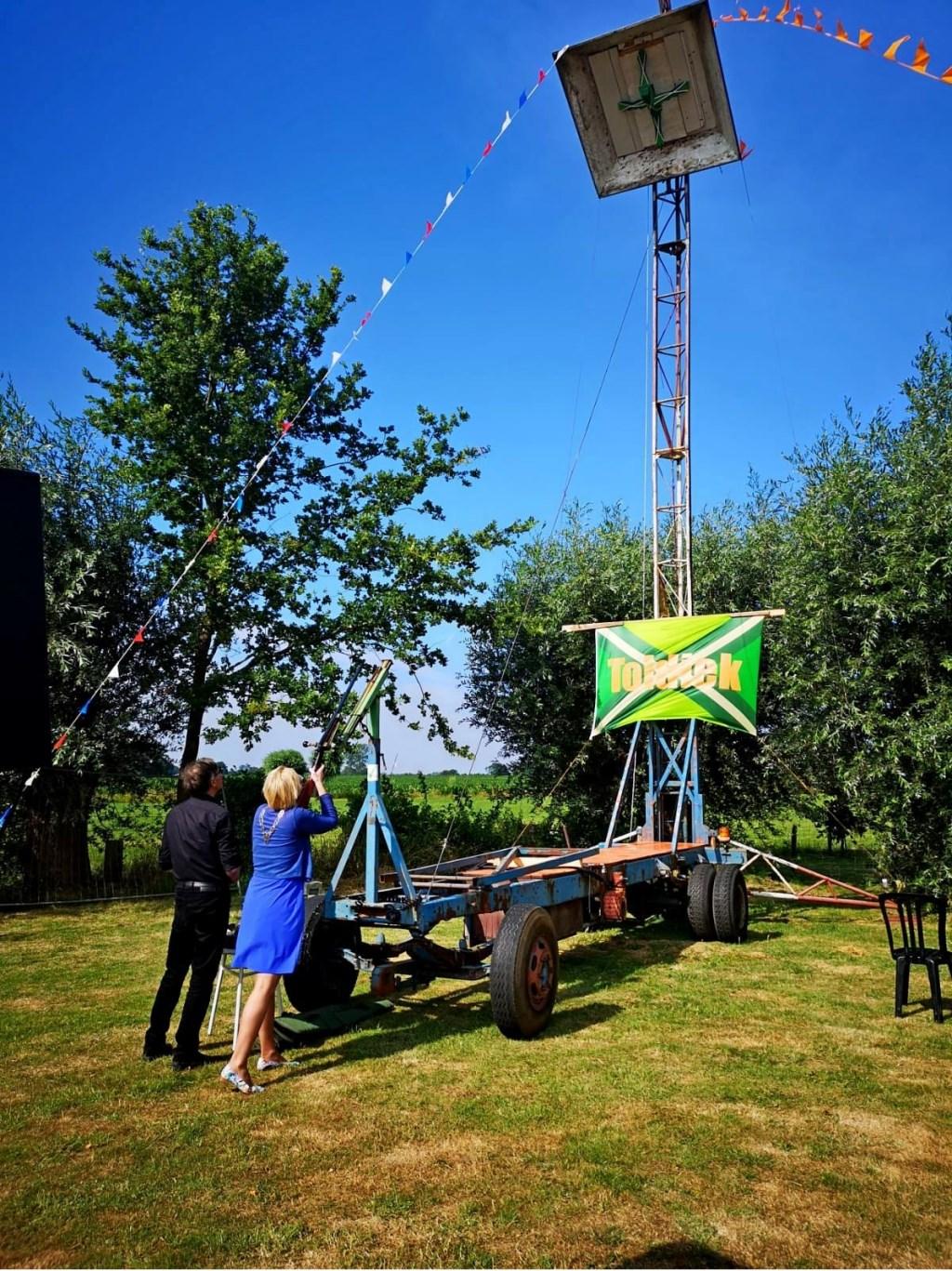 Openingsschot door burgemeester Marianne Besselink. Foto: PR  © Achterhoek Nieuws b.v.