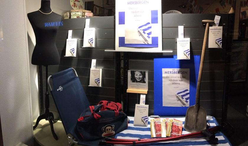De etalage van Boekhandel Kramer. Foto: PR Kramer