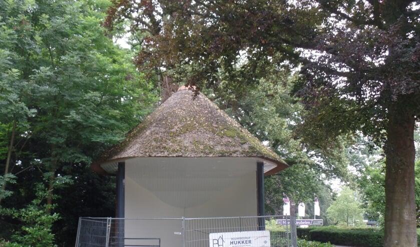 De muziekkoepel werd in 1937 door de Ruurlose burgerij aangeboden aan muziekvereniging Sophia's Lust in het kader van haar 75-jarig jubileum. Foto: Jan Hendriksen.