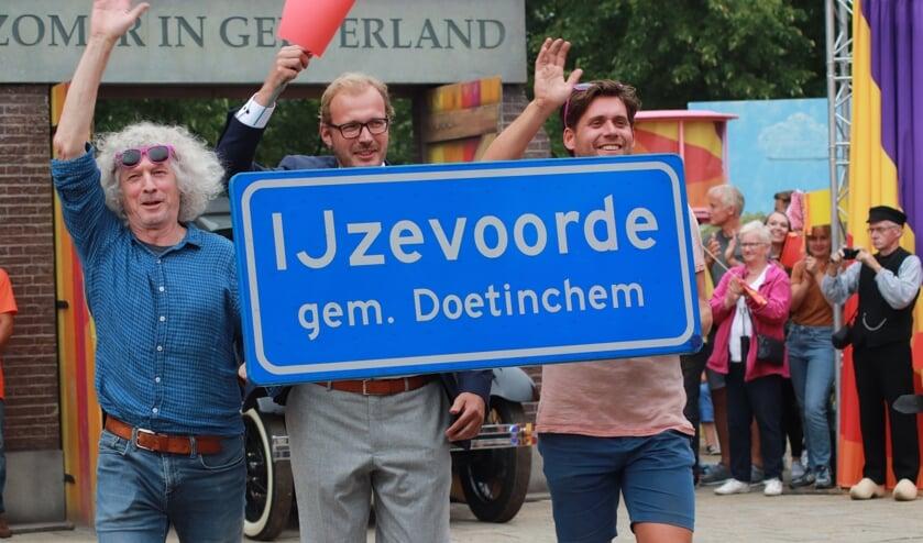 IJzevoorde liet zien wat het waard is. Foto: PR