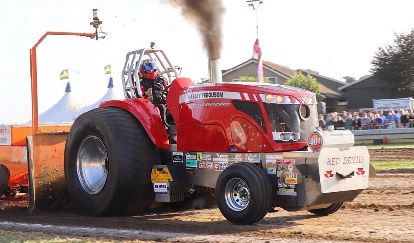 De Red Devil behaalde in Montfoort een negende plaats.Foto: PR.