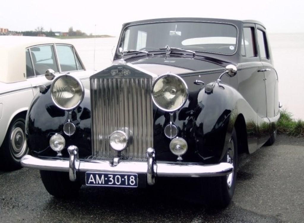 Rolls Royce Silver Wraight uit 1957. Foto: PR  © Achterhoek Nieuws b.v.