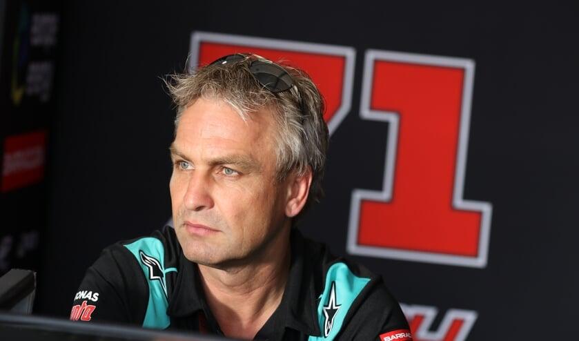 Toreif Hartelman is rijdersanalist bij de MotoGP. Foto: Henk Teerink
