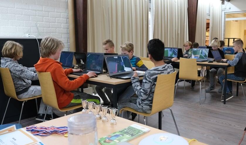Voor de vorige editie van de Minecraft-wedstrijd was veel belangstelling. Foto: PR