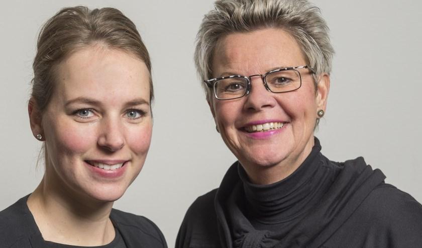Mantelzorgconsulentes Elize Navis en Marja Lukassen. Foto: PR