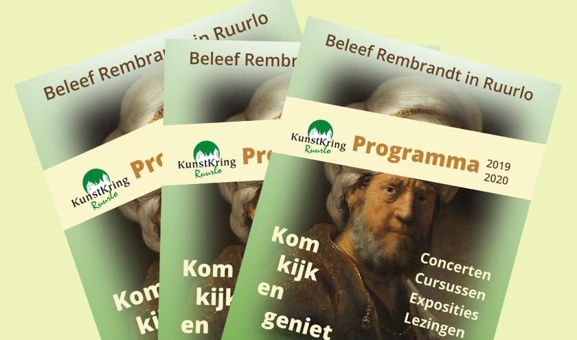 Het KunstKring-programma voor het komende seizoen is rond. Foto: PR