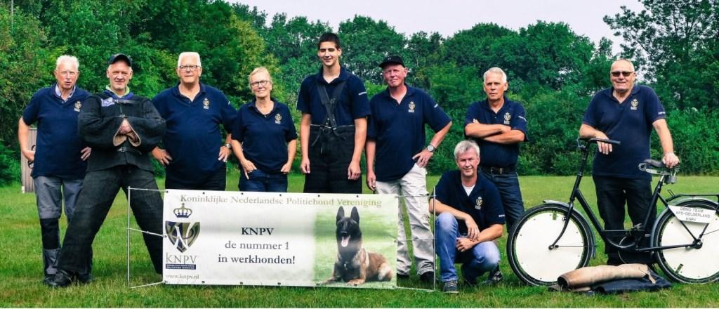 Demoteam van de KNPV. Foto: PR  © Achterhoek Nieuws b.v.
