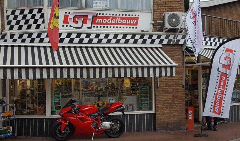 De winkel van GT Modelbouw. Foto: PR