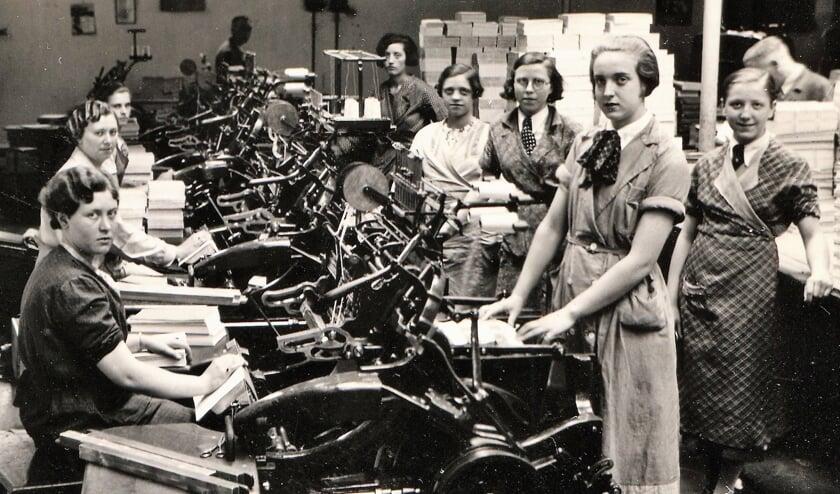 De meisjes van Wöhrmann. Foto: Regionaal Archief Zutphen