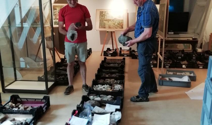 Vrijwilligers bezig met de herinrichting van De Scheper. Foto: PR