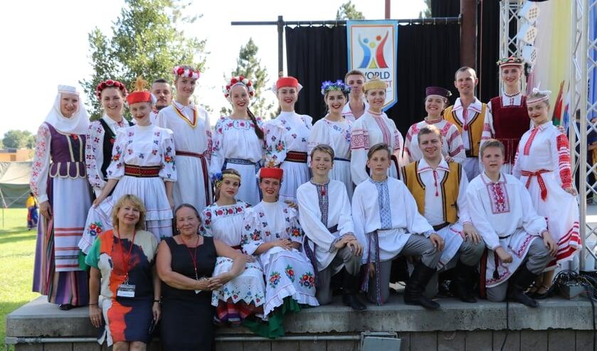 De Wit-Russische dansgroep Zorachka uit Minsk. Foto: PR