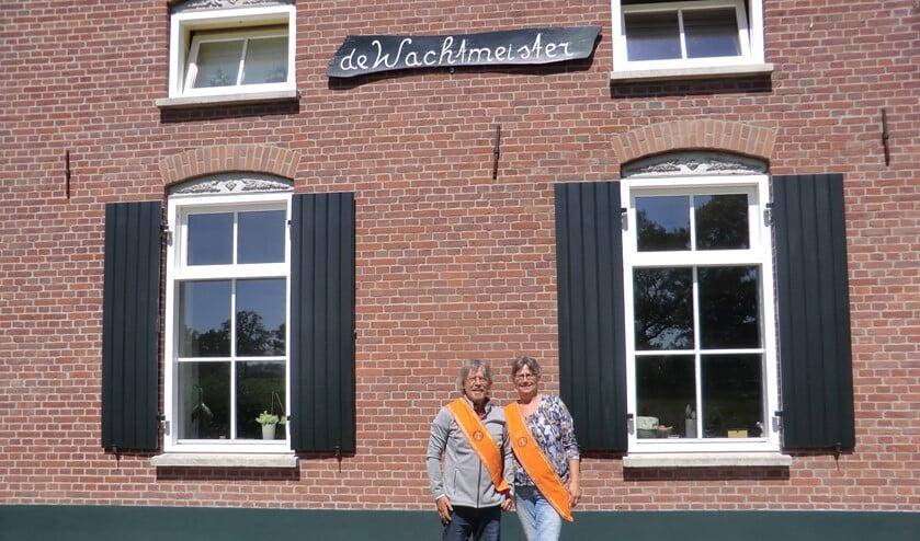 De koningin en haar partner voor 'de Wachtmeister'. Foto: Walter Hobelman