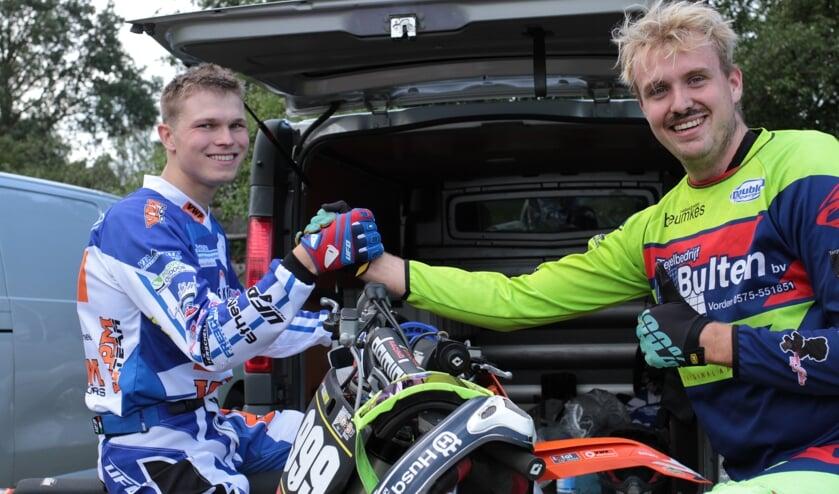 Jan Willem Arendsen en Thijs Bulten de snelste mannen bij de Vetnippel Trophy dit jaar. Foto: Henk Teerink