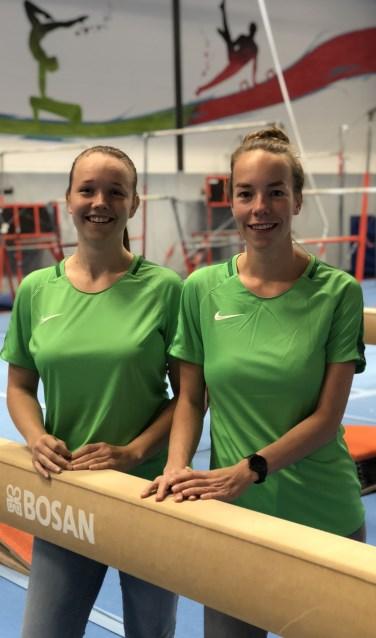 De coaches van de Turnacademie Achterhoek, Babet en Willemijn. Foto: PR