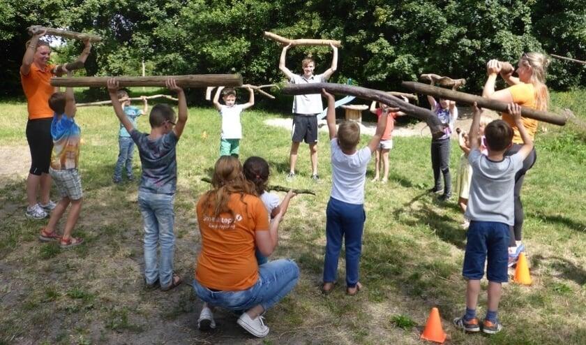 Elke middag worden activiteiten aangeboden, op donderdag is dit bootcamp.Foto: PR