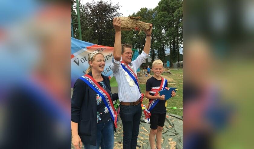 Henny Roerdink is de nieuwe schutterskoning van Holterhoek. Foto: PR