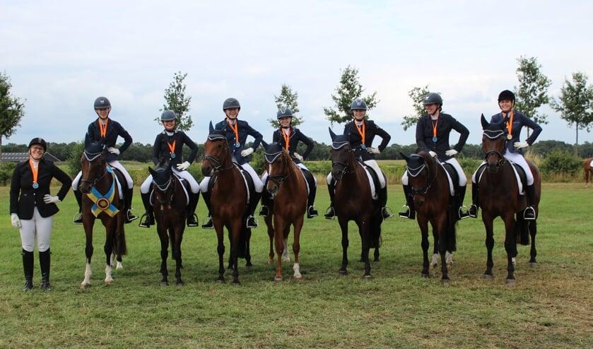 De kampioenen van RSV Barchem. Foto: PR