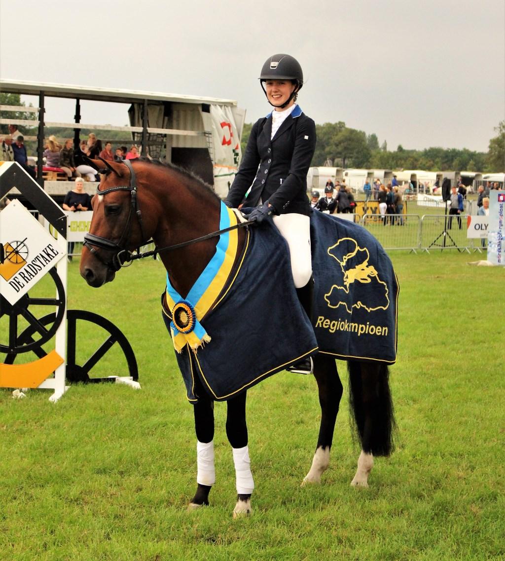 Kirsten Brinkman Gelders Kampioen. Foto: Willem Hamer  © Achterhoek Nieuws b.v.