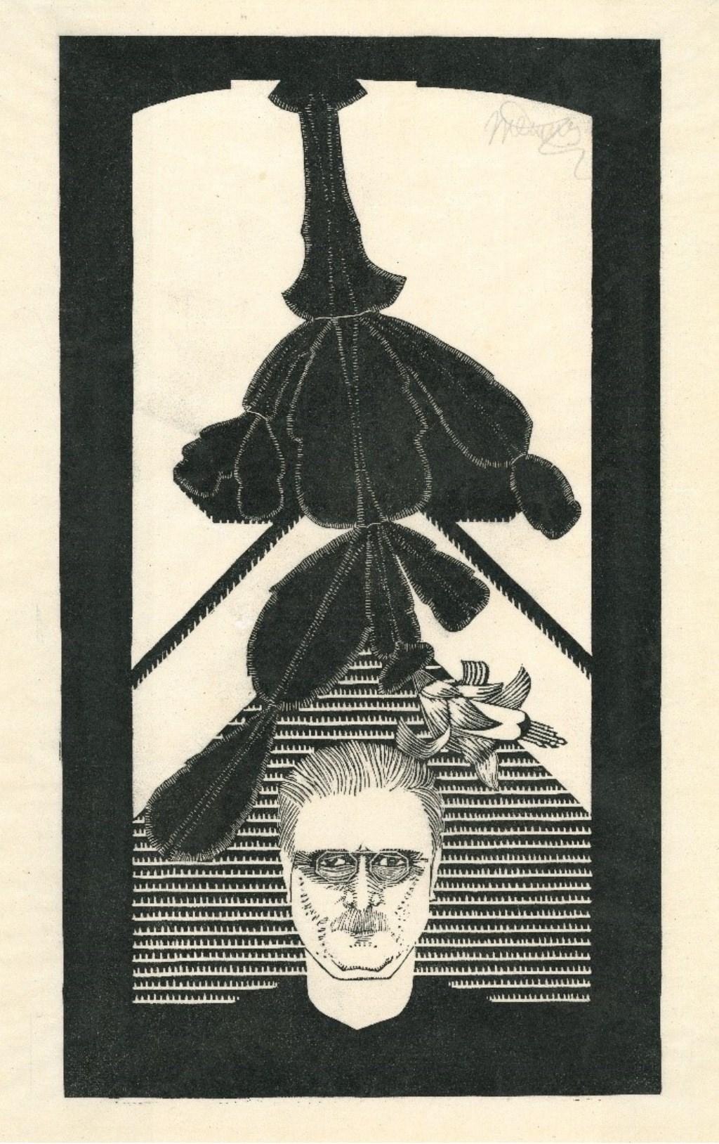 Samuel Jessurun de Mesquita, zelfportret met cactus, 1926-1929, collectie Joods Historisch Museum. Foto: PR