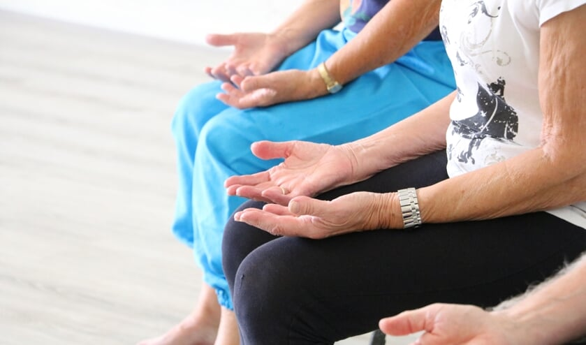 Yoga en andere beweegactiviteiten bij Careaz J.W. Andriessen. Foto: PR