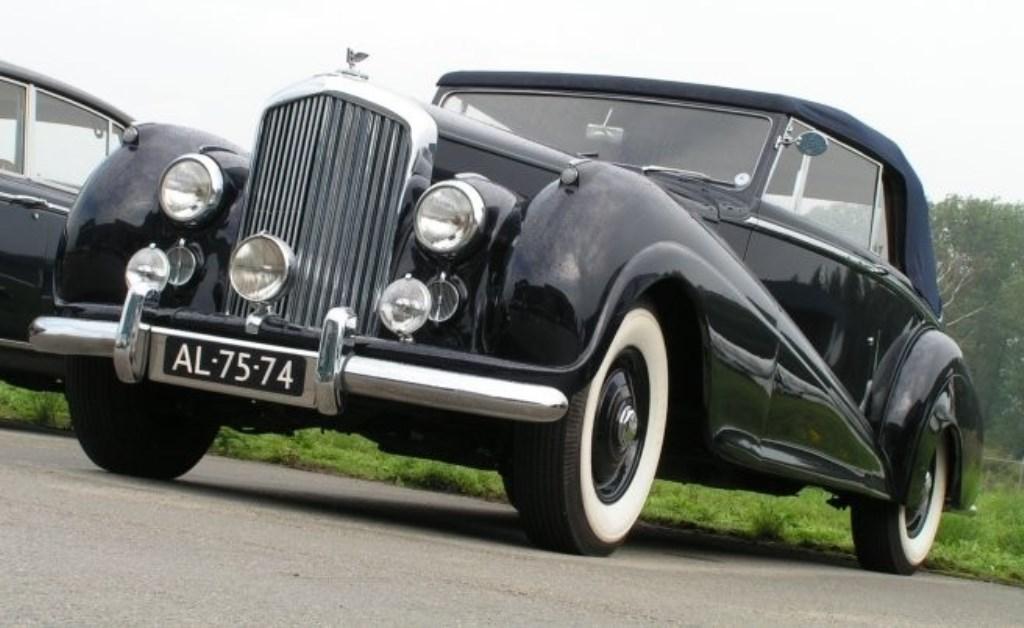 Een Bentley Mk VI Drophead coupé uit 1952. Foto: PR  © Achterhoek Nieuws b.v.
