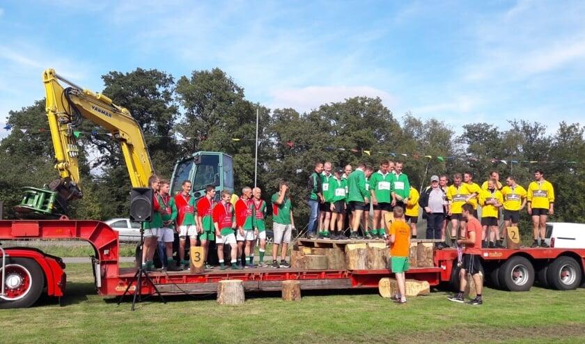 TTV Vorden (l) behaalde een derde plaats in de 640 klasse. Foto: PR.