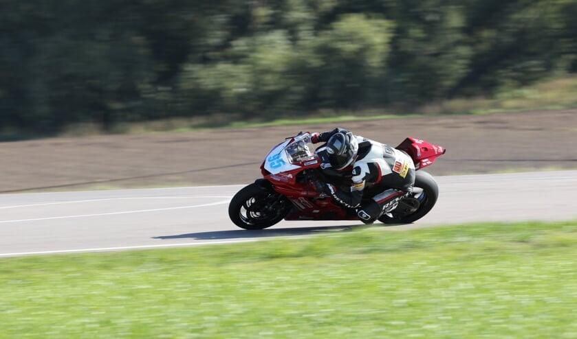 Jorn Hamberg IRRC Supersport coureur. Foto: Richard Kolsters