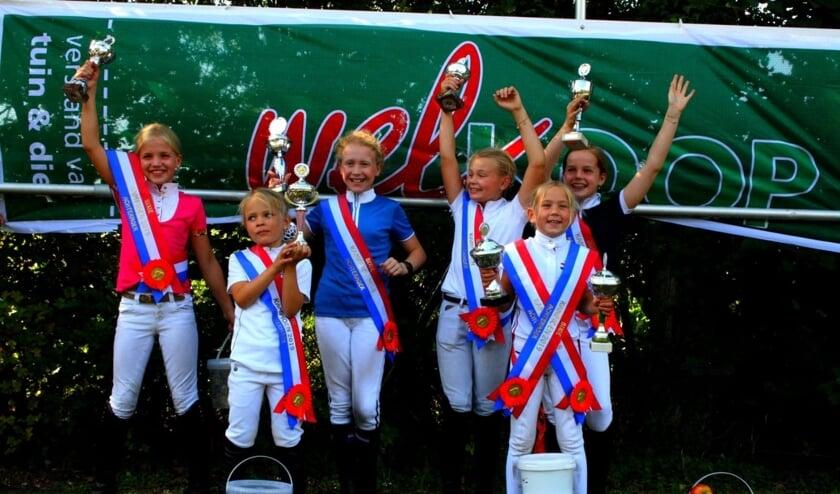 De kampioenen van de Bixie-competitie. Foto: Amber Snuverink