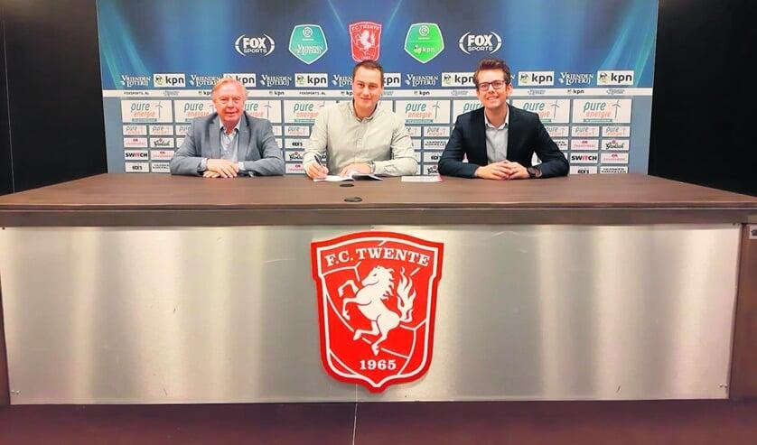 Van links naar rechts Kick van der Vall, Roy Reef en Jeroen Bos. Foto: PR